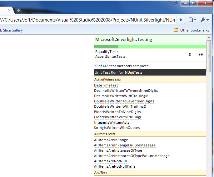 NUnit & the Silverlight unit test framework - Jeff Wilcox