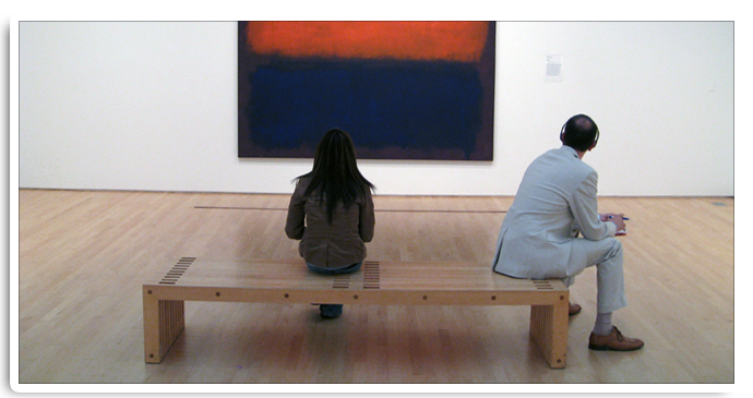 A Mark Rothko piece at SFMOMA.  Image for personal use only.